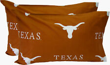College Covers Collegiate NCAA Texas Longhorns Pillowcase Set of 2