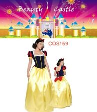 2017 Adult Snow White Deluxe Disney Princess Fairy Tale Fancy Dress Costume