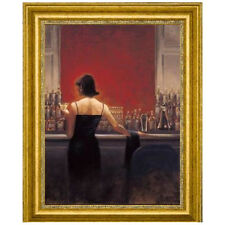 Canvas Art USA 'Evening Lounge' by Brent Lynch Framed Painting Print