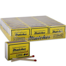 Clipper Longreach Safety Matches 120 Per Box for BBQs, Stoves, Fires & Candles