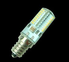 10pc/5pc/1pc 3W Dimmable E12 64-3014SMD Bulb Silicone Lamp 110V/220V White/Warm