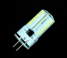 10p/5p/1p 3W Lamp Dimmable G4 64-3014SMD led Bulb Silicone White/Warm 110/220v