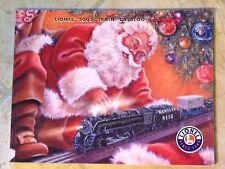 Lionel Train Catalogs Covering Years 2001-2009 Near Mint