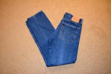 LEVI'S  505 REGULAR STRAIGHT  FIT  MENS JEANS ACTUAL SZ- 33  X 33 TAG- 34 X 34