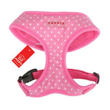 Dog Puppy Soft Harness - Puppia - Dotty Collection - Pink - Choose Size