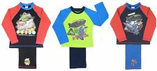 Boys Thunderbird Pyjamas Two Styles To Choose From Ages 4-5 5-6 7-8 9-10 Years