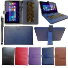 Keyboard Case Micro USB Leather Cover Pouch Stand For 7-8 Inch Tablets + Stylus