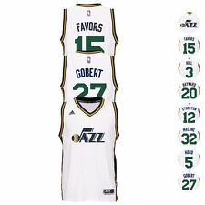 Utah Jazz NBA Adidas Official ClimaCool Swingman Home Jersey Collection Men's