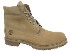 Timberland 6 Inch Basic Mens Boots Tan Leather Suede Lace Up A1779 U17