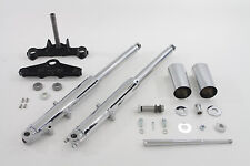 41mm Chrome Fork Assembly with Chrome Sliders,for Harley Davidson motorcycles...