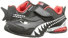 Puma Voltaic 3 Animal Sneaker 18785201 Black White Red Toddler Strap Shoes NEW
