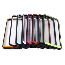 10pcs/lot Clear Hybrid Cover TPU+Acrylic Two-Color Hard Case for iPhone 7 i7plus