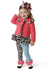 Mud Pie Baby ZEBRA COAT from the Wild Child Collection