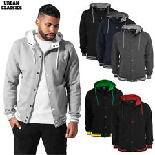Urban Classics Men'S Hooded College Sweater Jacket Jacket Cardigan S-XXL