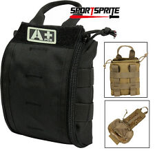 Tactical MOLLE Utility First Aid Bag Emergency EMT IFAK Medical Waist Pouch Bags