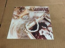 "MADONNA MATERIAL GIRL PIC SLEEVE ONLY NO RECORD  45 7""."