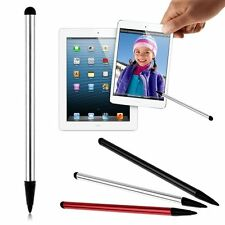 2 in1 Touch Screen Pen Stylus Capacitive Pen For iPhone iPad Samsung Tablet PC