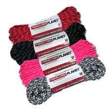 New 550 Paracord Parachute Cord Glow In Dark Tracers  10' - 25' - 50' - 100' ft