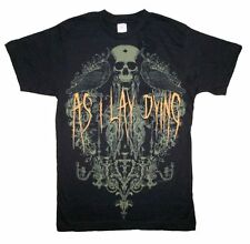As I Lay Dying Birds Mens Black T Shirt New Official Adult