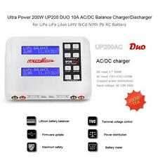 Ultra Power UP200 DUO 200W 10A AC/DC Battery Balance Charger for LiPo NiCd W9X9