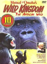 Mutual of Omahas Wild Kingdom - The African Wild (DVD, 2005, 3-Disc Set)