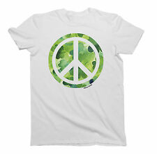 Mens/Ladies T-Shirt IRISH Clover PEACE St Patricks Day Ireland by Buzz Shirts