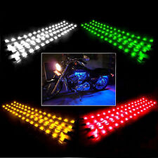 "4 PCS 12"" Waterproof Flexible LED Strip Underbody Light For Car Truck Motocycle"