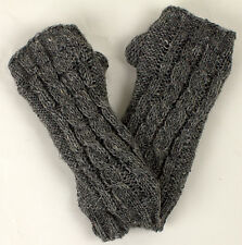 Gauntlets Arm warmers knitted made from pure wool padded Gloves