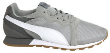 Puma Pacer Grey White Mens Lace Up Running Sports Trainers 361182 04 P1
