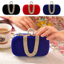 Ring Women's Evening Bag Ladies Wedding Party Shoulder Bag Clutch Handbag Purse