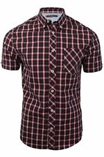 Mens Heritage Check Shirt by Ben Sherman Short Sleeved
