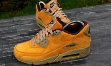 BNWB & GENUINE Nike Air Max 90 Winter Premium Wheat Bronze Trainers UK Size 7.5