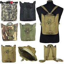 600D Camo Military Outdoor Molle Day Backpack Hiking Camping Tactical Bag
