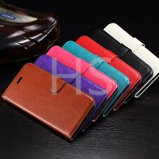 Luxury Flip Cover Stand Leather Case For Apple Iphone 4S 5 5S 6 6S 7 Plus TB