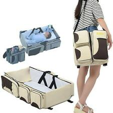 Portable Nursery Bed Baby Infant Travel Diaper Bag Stroller Crib Bassinet Boy YZ