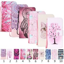 Card Holder Leather Flip Wallet Stand Case Cover For Lenovo HTC ASUS Xiaomi WIKO