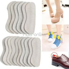 3/5pcs Foot Care Cushion Protector Insole Liner High Heel Shoes Back Leather Pad