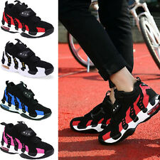 Women's Fashion Platform High Top Ankle Wedge Heels Sneaker Boots Shoes New