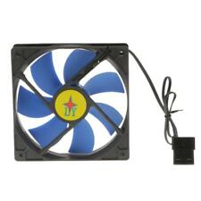 120mm 14cm PC Computer Case Fan 4 Pin Cooling Cooler Silent Quiet No LED