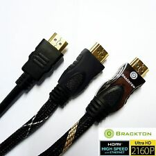 4K ULTRA FULL HD 3D HDMI Vers2.0 Cable 0,5 1m 1,5m 1,8m 2m 3m 5m 7,5 10m 15m 20m