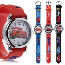 Children Girl Kids cartoon 3D quartz Silicone Wrist Watch Rubber Gift Toy Unisex