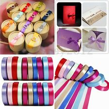 22 meters 15mm Double Sided Satin Ribbon 25 yards Wedding Craft Supplies Decor