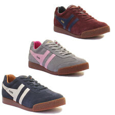 Gola Classics Gola Harrier Womens Suede Leather Trainers