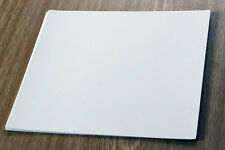 3 minor white blank self adhesive overlays/mats for Spicers/ GF Smiths albums