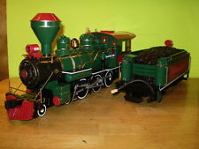 MODEL TRAINS/G SCALE/BACHMANN/4-6-0 STEAM LOCO & TENDER/NORTH POLE & SOUTHERN