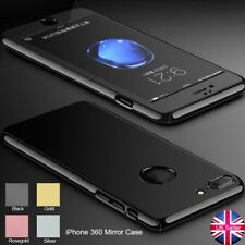 Hybrid 360 Shockproof Thin Case Tempered Glass Cover For Apple iPhone 7 6 Plus
