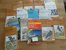 Job Lot / Collection / Bundle / Set of ASSORTED Ordnance Survey Maps - Lot H