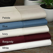 Pin-Stripe 620 Thread Count Egyptian Quality Cotton Sateen Sheet Set