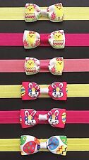 Baby Girl Cute Easter Headbands Pink Yellow Chick Bunny Easter Egg 1-36 Months