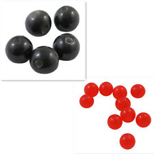50pcs Imitated Cat Eye Round Resin Beads DIY Jewelry Findings 6mm hole:1.5mm